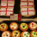 A Leeds, on vend des shortbreads de St Georges !